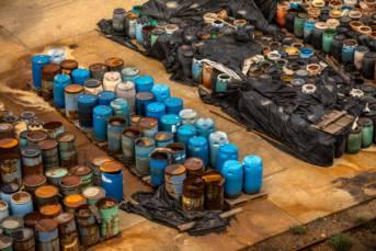 Several barrels of toxic waste at the dump In Somalia haben die illegalen Giftmüllablagerungen schwerwiegende Folgen für Mensch und Umwelt. Symbolbild | Bild: © Svedoliver - Dreamstime.com