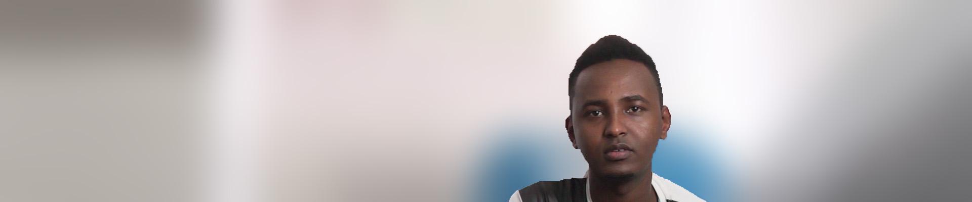 Kulmiye berichtet, warum er aus Somalia flüchten musste und was er auf seiner gefährlichen Reise erlebte.
