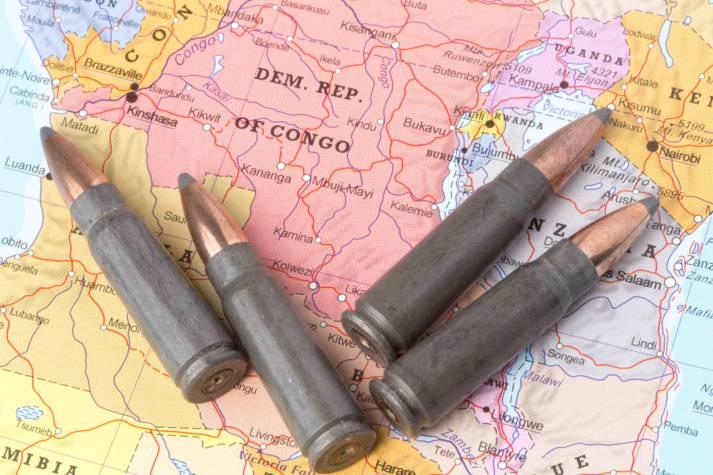 Konflikt und Gewalt im Kongo. Menschenrechtsverletzungen und Gewalt nehmen in  der DR Kongo dramatisch zu | Bild: © Mattiaath - Dreamstime.com