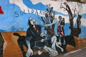 Protest gegen den Völkermord im Sudan