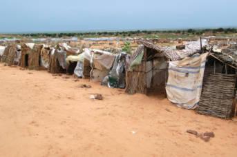 Flüchtlingscamp Darfur