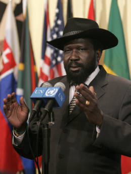 Salva Kiir Mayardit Präsident Südsudan