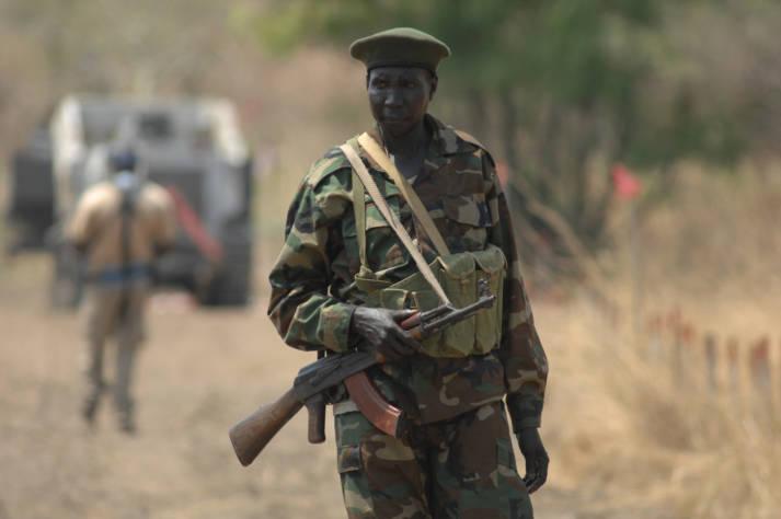 Soldat im Sudan Soldat im Sudan |  Bild: © Mattphoto  - Dreamstime.com