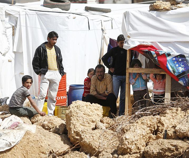 Flüchtlingslager im Libanon.
