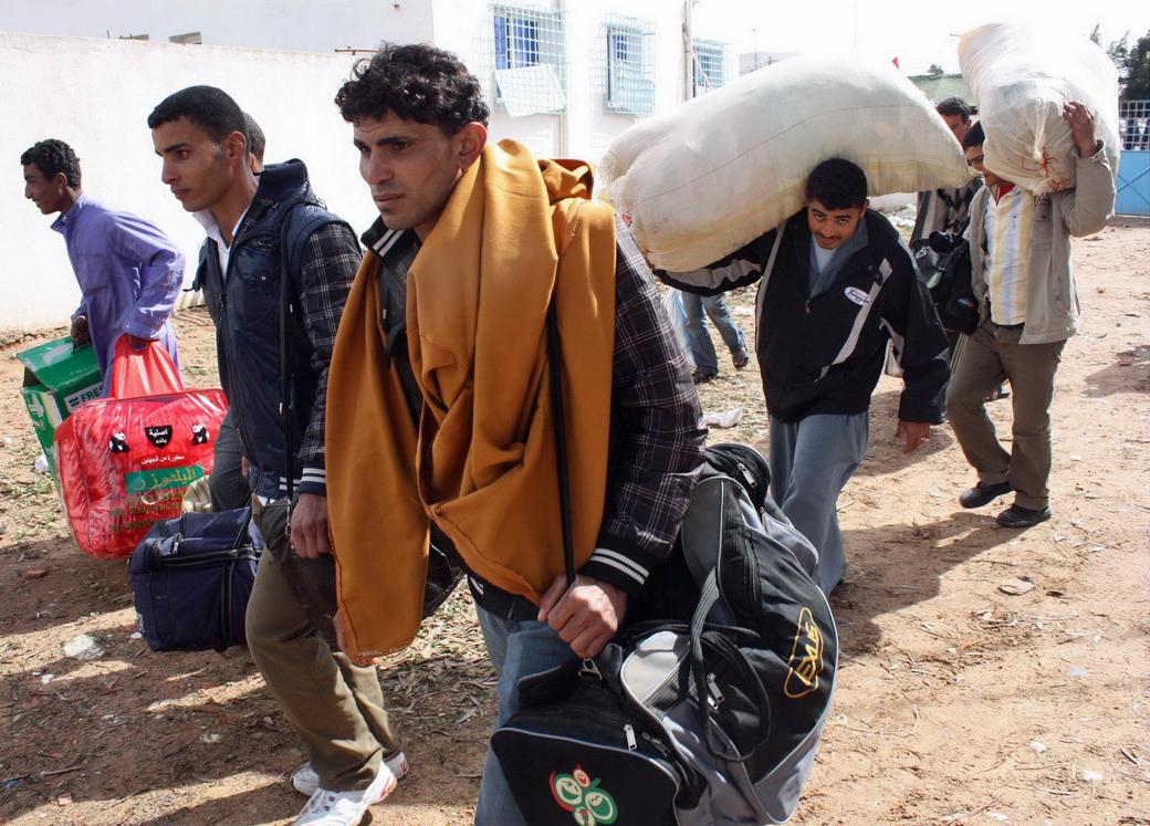 Fluechtlinge in Libyen