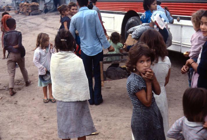 Flüchtlinge Zentralamerika Flüchtlinge in Honduras. |  Bild: © Linda Hess Miller - Wikiemdia Commons
