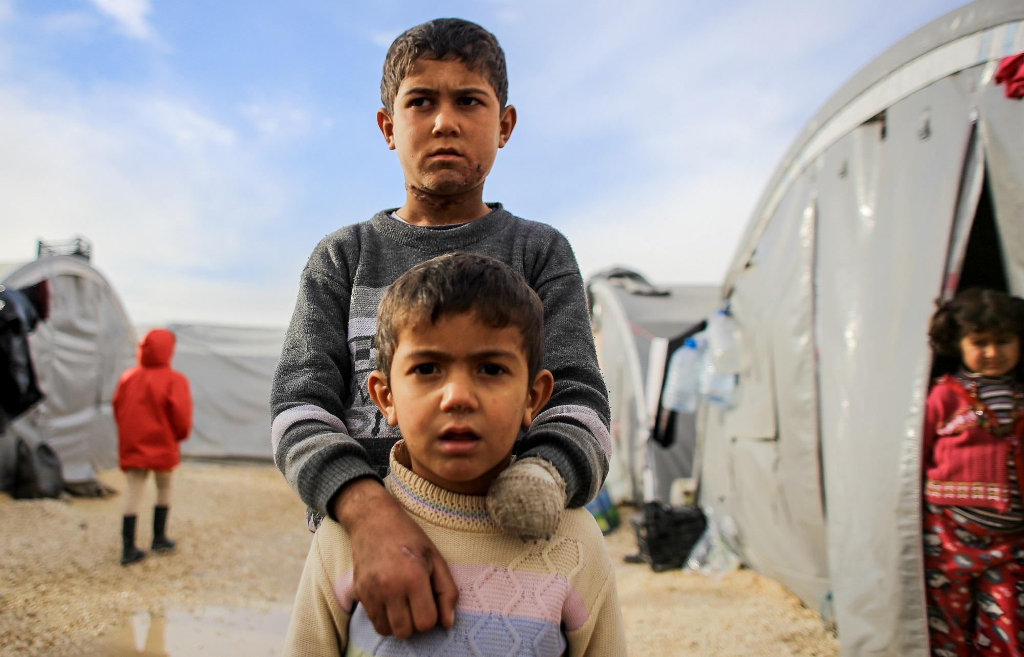 Kinder als Kriegsopfer