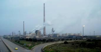 Ölraffinerie in Homs, Syrien