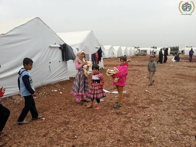 Flüchtlingscamp Syrien  Bild: © IHH Humanitarian Relief Foundation [CC BY-NC-ND 2.0]  - flickr