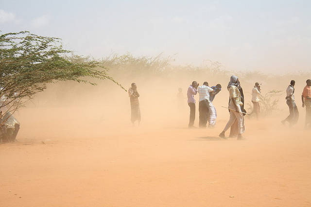 Flüchtlinge Somalia  | Bild: ©  Oxfam International [CC BY-NC-ND 2.0]  - flickr