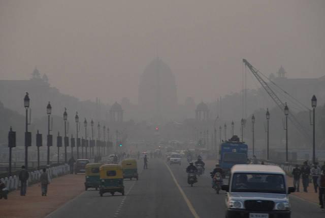 Smog in Indien |  Bild: ©  Mark Danielson [CC BY-NC 2.0]  - Flickr