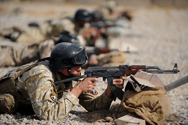 Soldaten im Irak