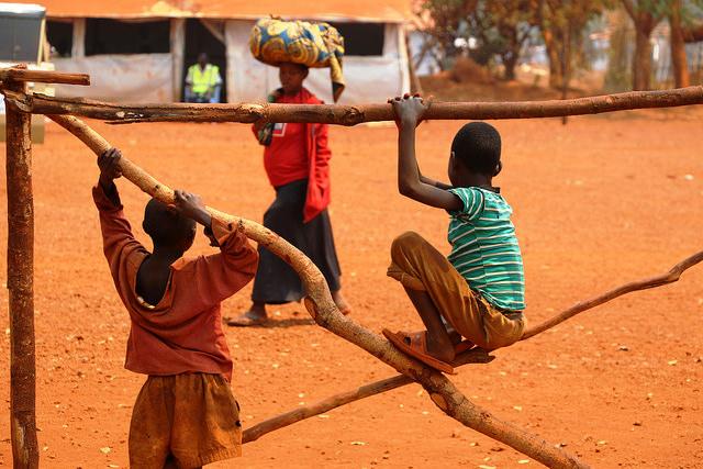 Flüchtlinge aus Burundi