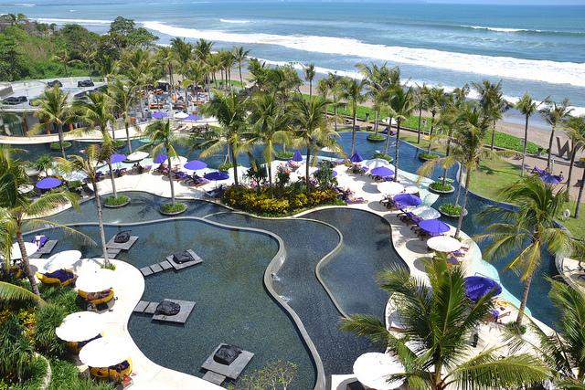 Hotelanlage in Bali