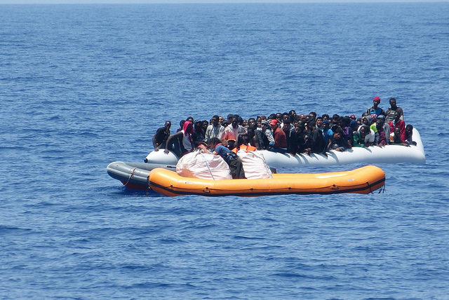 Rettung Flüchtlinge