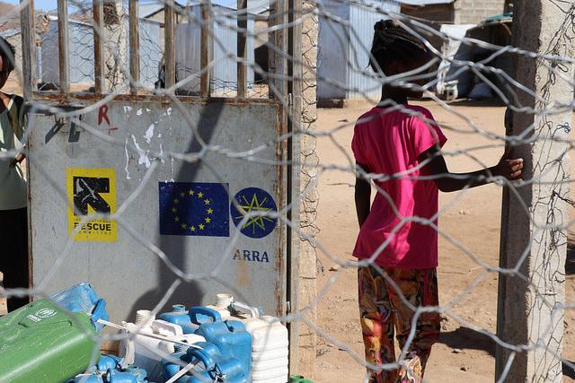 Flüchtlingscamp