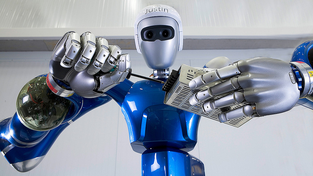 Roboter zur Wartung von Industrieanlagen