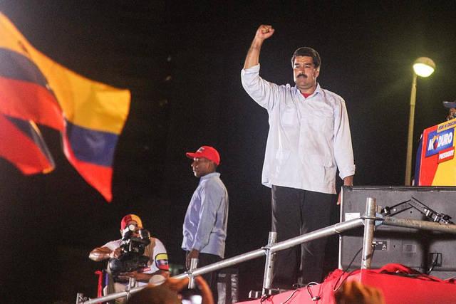Maduro Venezuelas Präsident Nicolas Maduro |  Bild: © Joka Madruga - Flickr