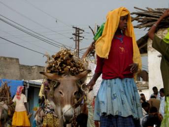 Harar Markt - Äthiopien