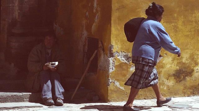 Armut in Mexiko Das Freihandelsabkommen mit der EU könnte Mexiko weiter in die Armut stürzen.  | Bild: © Giulian Frisoni [CC BY 2.0]  - Flickr