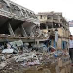 Die Stadt Sa'ada nach Luftangriffen Die Stadt Sa'ada im Jemen nach einem Angriff der Luftwaffe Saudi Arabiens | Bild (Ausschnitt): © United Nations OCHA [CC BY-NC-ND 2.0] - Flickr