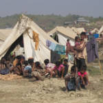 Rohingya Flüchtlinge Ein Flüchtlingslager für Vertiebene der Rohingya-Minderheit. | Bild (Ausschnitt): © European Comission DG ECHO [CC BY-NC-ND 2.0] - Flickr