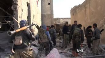 Kurdische Kämpfer in Kobane