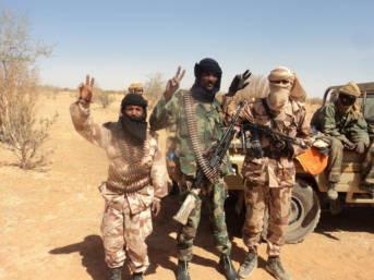 Mitglieder einer radikalen Tuareg Gruppierung.  | Bild: © Magharebia [CC BY 2.0]  - Flickr