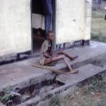 Unterernährte Frau Eine Unterernährte Frau nahe der Biafra-Kriegszone | Bild (Ausschnitt): © CDC [gemeinfrei] - Wikimedia Commons