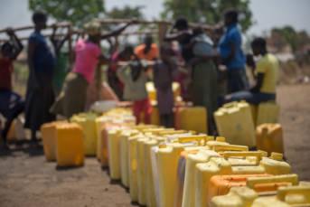 Flüchtlingslager in Uganda Uganda braucht dringend Hilfe, um die vielen Flüchtlinge versorgen zu können | Bild: ©  Trocaire [CC BY 2.0]  - flickr