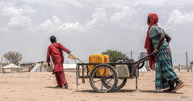Wasserversorgung in Rann, Nigeria