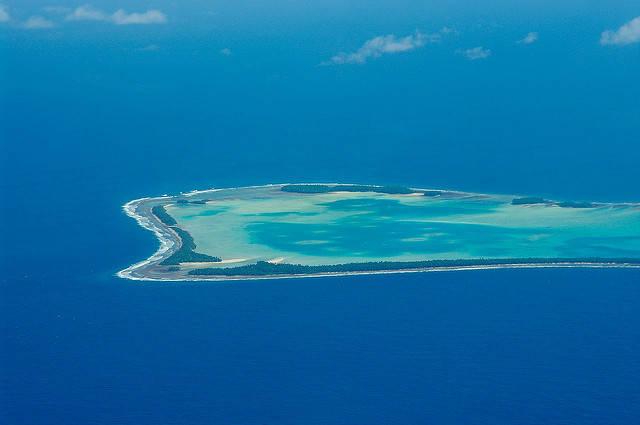 Tuvalu Der kleine Inselstaat Tuvalu ist vom Untergang bedroht. | Bild: © Tomoaki INABA [CC BY-SA 2.0]  - Flickr