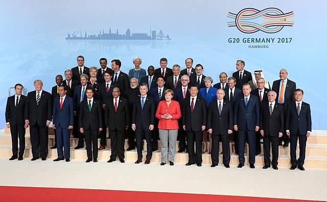 G20 Hamburg Die 20 größten Volkswirtschaften der Welt haben es in der Hand, die Schuldenkrise des Globalen Südens zu entschärfen. | Bild: © Kremlin.ru [CC BY 4.0]  - Wikimedia Commons