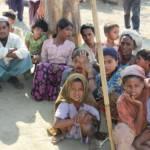 Rohingya-Flüchtlinge Vertriebene Rohingya aus Rakhaing | Bild (Ausschnitt): © Foreign and Commonwealth Office [OGL] - Wikimedia Commons