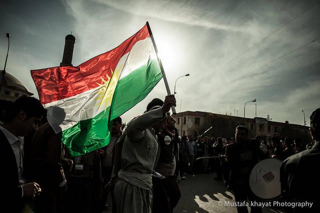 Seit knapp hundert Jahren kämpfen die Kurden nun schon um ihren eigenen Staat. Jetzt haben die irakischen Kurden erstmals ein Referendum über ihre Unabhängigkeit abgehalten. | Bild: ©  Mustafa Khayat [CC BY-ND 2.0]  - Flickr