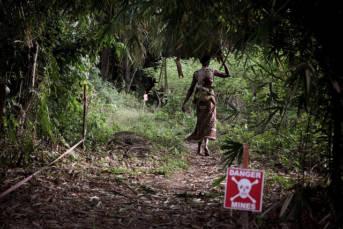 Massenflucht Als Folge der Konflikte: Massensterben und Massenflucht in der DR Kongo. | Bild: © nited Nations Development Programme [CC BY-NC-ND 2.0]  - Flickr