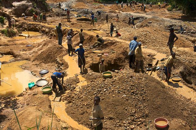 Kinderarbeit DR Kongo