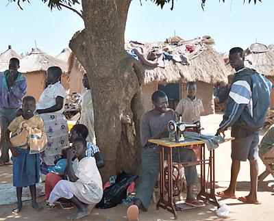 Lebuje Flüchtlingscamp in Uganda