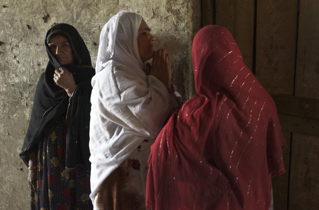 Frauen in Bagram, Afghanistan