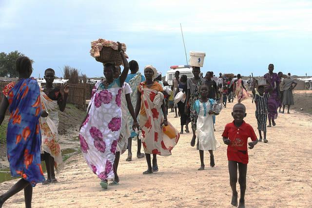 Südsudan Bis Jahresende werden voraussichtlich sechs Millionen Südsudanesen auf Hilfsgüter angewiesen sein. | Bild: © European Commission DG ECHO [CC BY-ND 2.0]  - Flickr