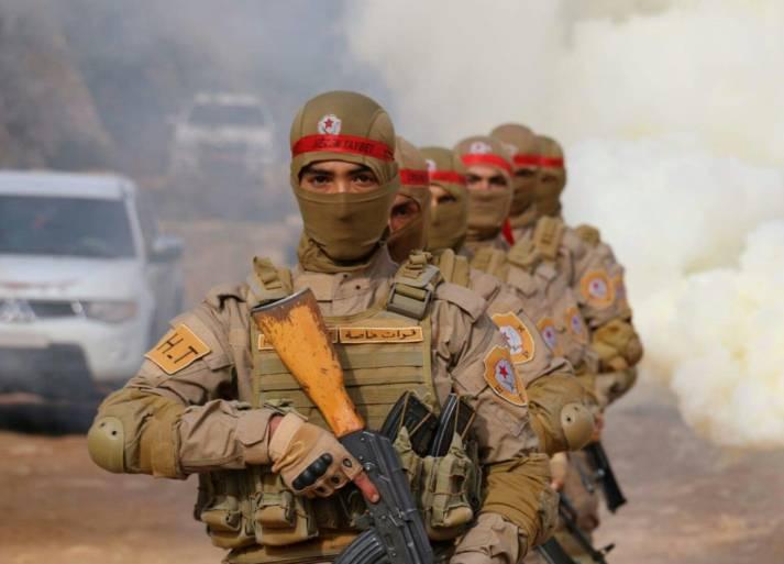 YPG-Kämpfer Kämpfer der kurdischen Volksverteidigungseinheiten (YPG) in Afrin. |  Bild: ©  Kurdishstruggle [CC BY 2.0]  - Flickr