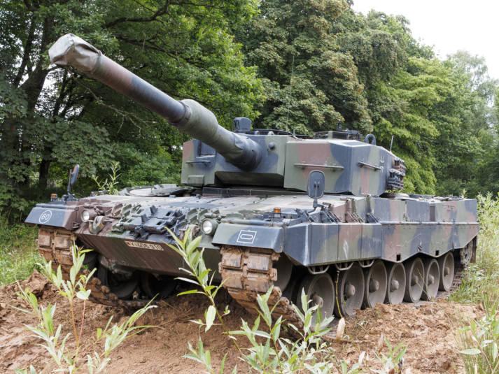 Leopard 2A4 Ein Panzer des Typs Leopard 2A4. | Bild: © 270862 [CC BY-ND 2.0]  - Flickr
