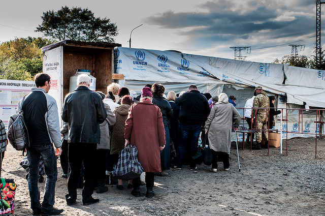 IDPs in Donbas Winter 2017