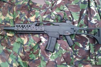 Das G36 Sturmgewehr: Heckler&Kochs Exportschlager. | Bild: ©  Keith Trivett [CC BY 2.0]  - flickr