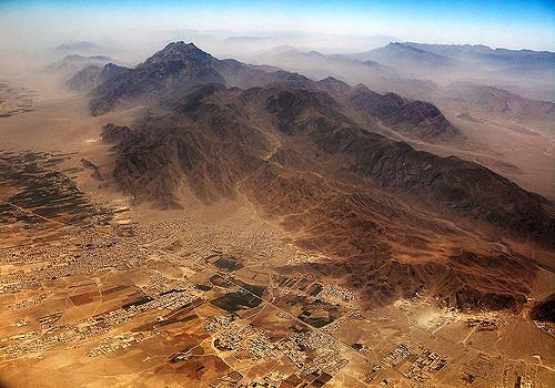 Balochistan-Wüste in Pakistan