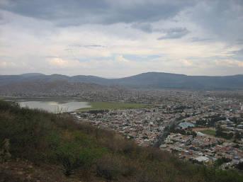 Panoramablick auf Cochabamba