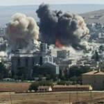 Die Zerstörungskraft der Explosivwaffen hinterlässt gewaltige Schäden so wie hier in Kobane | Bild (Ausschnitt): © Karl-Ludwig Poggemann [CC BY 2.0] - flickr