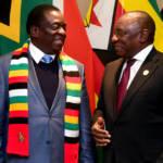 Simbabwes Präsident Emmerson Mnangagwa (links) ist seit einem Monat im Amt- wird er die Situation im Land ändern? | Bild (Ausschnitt): © GovernmentZA [CC BY-ND 2.0] - flickr