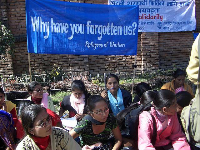 Die Unterdrückung durch die Regierung zwang jeden 6. Bhutanesen zur Flucht- meist nach Nepal |  Bild: © ISN [CC BY-NC-ND 2.0]  - flickr