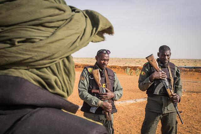 Soldaten Mali